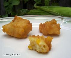 Fried Corn Fritters- hmmm I wonder are these like Sonny's or Glenn's, gonna have to make these for sure!