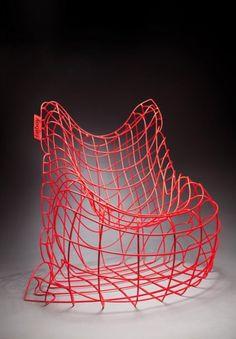 FATBOY -  Wire chair by Jan Plechac