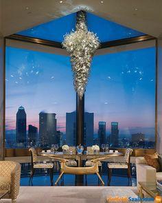 NYC. A Manhattan penthouse