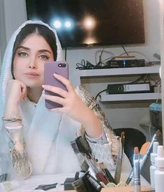 Industry Experts Give You The Best Beauty Tips Ever Cute Girl Photo, Beautiful Girl Image, Beautiful Hijab, Beautiful Women, Iranian Beauty, Muslim Beauty, Mode Abaya, Mode Hijab, Stylish Girls Photos