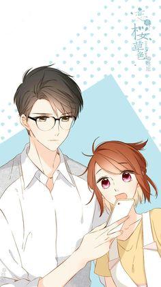 Manga Couple, Anime Love Couple, Anime Couples Manga, Cute Anime Couples, Anime Guys, Manga Art, Manga Anime, Anime Art, Manga Romance