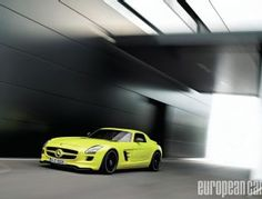 Mercedes-Benz All-Electric SLS AMG E-Cell