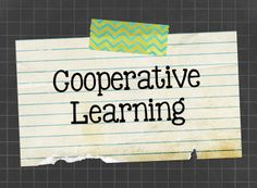 Cooperative learning ideas and resources for the classroom.