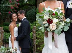 Blush gold and burgundy wedding. The Tidewater Inn Wedding Photography. Laura's Focus Photography.