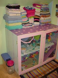 Repurpose furniture for cage