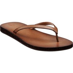 leather clarks flip flops