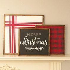 Farmhouse Merry Chirstmas wood sign with pine Merry Little Christmas, Winter Christmas, Christmas Time, Christmas Crafts, Christmas Decorations For The Home, Christmas Signs Wood, Holiday Decorating, Farmhouse Frames, Farmhouse Signs
