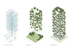 Stefano Boeri Architetti | VERTICAL FOREST. location tag = Milan for more pictures.