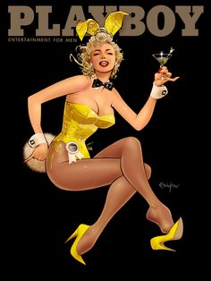 Bunny by *Franchesco on deviantART | This image first pinned to Marilyn Monroe Art board, here: http://pinterest.com/fairbanksgrafix/marilyn-monroe-art/ || #Art #MarilynMonroe