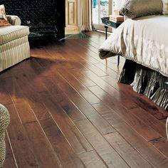 "5"" Engineered Maple Hardwood Flooring in Heritage"