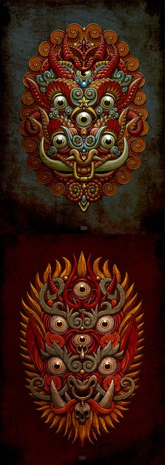 Maska by Oleg Gert, via Behance