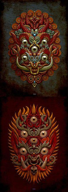 Maska by Oleg Gert, via Behance
