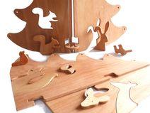 """houten speelgoed """"A Walk in the Woods"""" size """"L"""""""