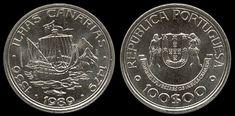 100 Escudos - Cupro Niquel, 1989