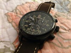 Timex Expedition Field Chronograph.