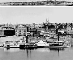"The Earliest Surviving Photograph of an American City (1848) - ""Daguerreotype View of Cincinnati"""