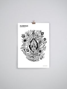 Pretty Pussies Prints by Johanna Bruun. Available at www.uumarket.fi - UU Market: Home of New Finnish Design.