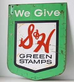s & h green stamps..what did your family save up for?