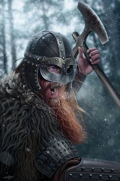 Viking Ready to Kill