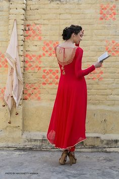 #Desi_Fashion's Red Hot #Gorgeous <3
