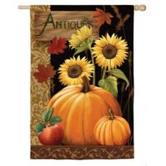 Decoupage Antiques For Sale / Thomas Wood Autumn Painting, Autumn Art, Tole Painting, Fall Paintings, Fall Canvas Painting, Pumpkin Painting, Acrylic Paintings, Watercolor Painting, Decoupage Vintage