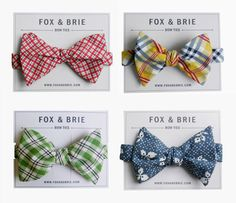 fox bow ties