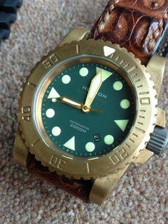 Helson SharkDiver 45mm Bronze