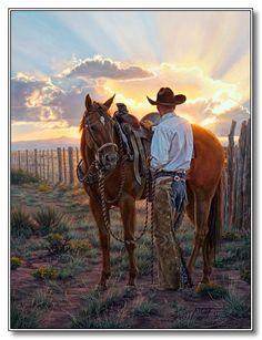 Western Artist Tim Cox - Cowboy Art - Ranch Art