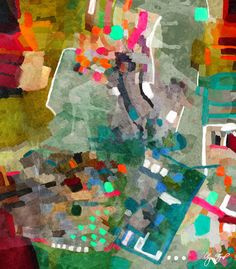 Abstract art by Gina Startup