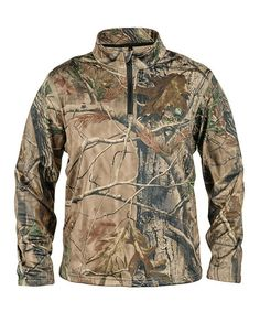 Take a look at this Brown Realtree Pullover - Kids by Lucky Bums on #zulily today!