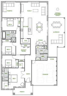 Ningaloo - Energy Efficient Home Design - Green Homes Australia