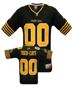 Reebok Hamilton Tiger-Cats Personalized Premier Home Jersey 5024f53da