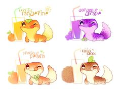 Cartoon Drawing Tips - Drawing On Demand Cute Kawaii Animals, Cute Animal Drawings Kawaii, Kawaii Art, Cute Baby Animals, Cute Drawings, Cute Lizard, Cute Gecko, Pelo Anime, Cute Reptiles