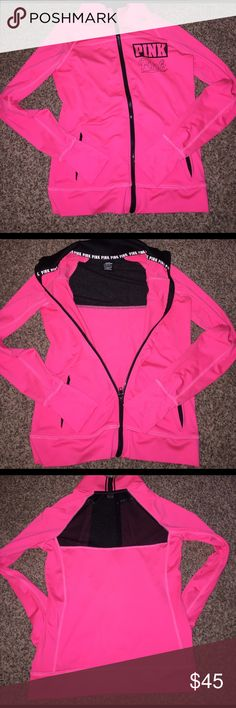 Victoria's Secret PINK ultimate jacket NWOT Victoria's Secret pink ultimate jacket! No stains wear or tear! Please feel free to ask any questions and check out my other listings! PINK Victoria's Secret Jackets & Coats