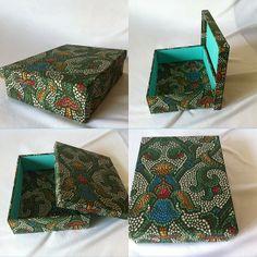 Caixa Mosaico Verde   www.munayartes.com