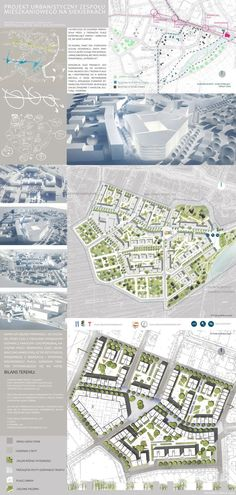 Urban Design - Siekierki District on Behance                                                                                                                                                     More