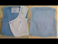 YouTube Baby Vest, Knit Vest, Baby Knitting, Knitting Patterns, Youtube, Sweaters, Clothes, Fashion, Knitting Videos