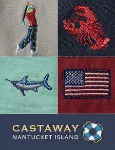 Summer should be carefree, so stock your closet with easy-to-wear seersucker, linen and embroidered shorts from Castaway. Live the dream, even if you can't be on the island every day.  http://castawaynantucket.myshopify.com/?utm_source=Pinterest&utm_medium=2.20P