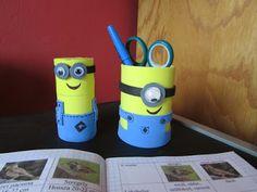 Játékos tanulás és kreativitás: Minyonos ceruzatartó vécégurigából és egyéb ötletek