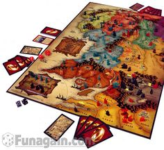 Lord of the Rings Risk - A great twist to a classic.