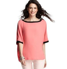 I'm using Shopscotch.com to watch the price of the Tipped Wedge Pullover at Loft $49.50