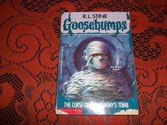 R.L. Stine Goosebumps The Curse of The Mummy's Tomb 1993