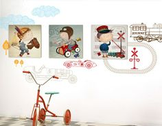 Arte Country, Kids Rugs, Baby, Nursery Ideas, Home Decor, Kid Art, Kids Rooms, Decorative Stickers, Decoration Home