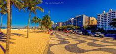 Recorrido por la playa de Leme, Rio de Janeiro, Brasil.....!!!
