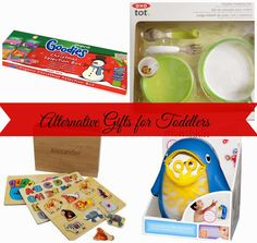 Alternative Gifts For Toddlers