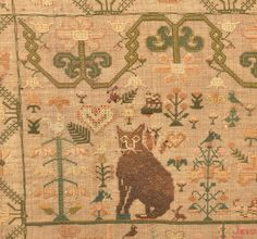 Lot: Helen Samson Needlework Sampler Dated 1828., Lot Number: 0405, Starting Bid: $7,500, Auctioneer: Conestoga Auction Company Division of Hess Auction Group, Auction: ANTIQUE & AMERICANA AUCTION, Date: March 18th, 2017 EDT