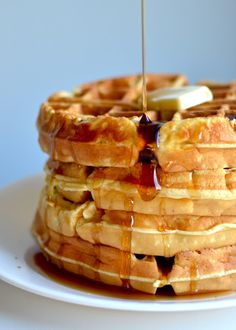 Yammie's Noshery: Copycat Hotel Waffles David liked. Said may be a better waffle out there.