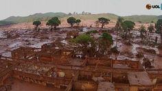 TV SAQUA TV: A destruição da onda de lama da Samarco no pais chamado Brasil