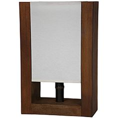 Wood Modern-style 15-inch Zen Decorative Lamp (China) - Overstock™ Shopping - Great Deals on Table Lamps