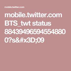 mobile.twitter.com BTS_twt status 884394965945548800?s=09